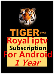 Royal IPTV Android Subscription 1 Year Android TV BOX & Android Mobile Phone