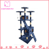 Cat Tree House Scratching Post Blue Toy Pet Tower