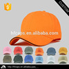 100% Cotton Material and Plain Dyed Pattern Baseball cap