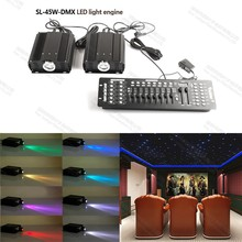 45w home theater light fiber optical transmitter projector for ceiling lights decoration