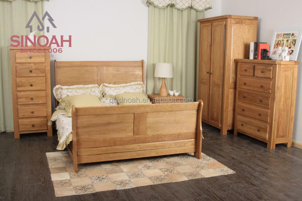 2015 meubles de chambre coucher en bois el range ch ne - Set de chambre bois massif ...