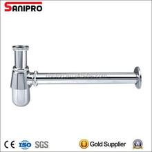 1 1/4'' Heavy duty brass bottle trap for basin drainage