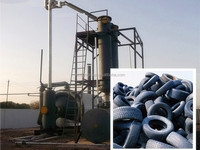 2015 used oil refinery machinery from waste to diesel for sale