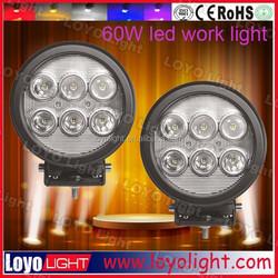 Super price 60w led work light heavy Duty 12v24v for Tractor Trucks Forklift Mifor truck