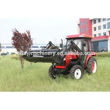 Minitractores de jardín JINMA-354 de 35 HP, tractor de cuatro velocidades con cargador frontal 4 en 1