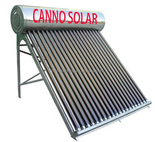 2015 new products 150L compact unpressurized Stainless Steel solar water heater solar panel mounting