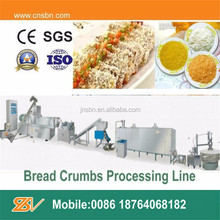 hot selling industrial bread crumbs making machine process line