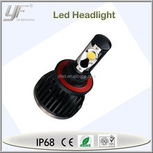 h13 yf brand electric car motor conversion kit , COB led car electric vehicle motorcycle headlight