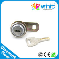 High quality zinc alloy cabinet lock with master key for game machine