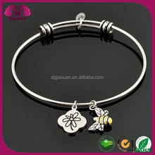 Wire Bangle Charm New Product 2015 Silver Jewelry Alex And Ani Charm