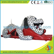 2015 GMIF5214 CE approved and soft lake inflatable dog slides