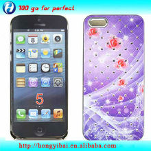 New Arrival Wholesale Crystal Handphone Cover for i phone5 ''