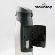 botellas de agua al por mayor de la categoría alimenticia del 100% BPA Tritan botella de plástico biodegradable libre