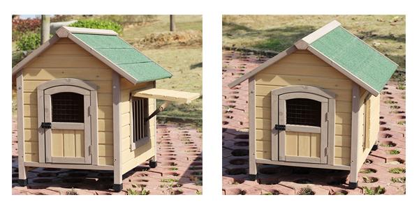 Wood Dog Kennel Outdoor Dog Kennel Handmade Kennel