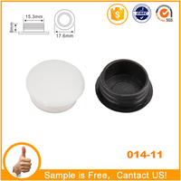 small plastic furniture hardward accessories 16mm plastic hole cap cover