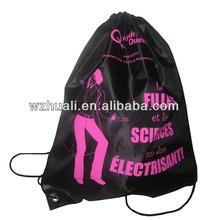 Promotion String Drawstring Nylon Bag