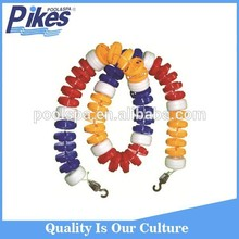 Swimming pool competition use lane rope, pool floating rope