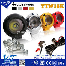 Y&T Square fog light SUV/Truck 10w motorcycle/bike light kits YTW10K