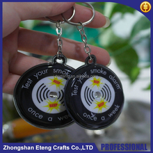 Wholesale giveaways custom made keychains with company logo