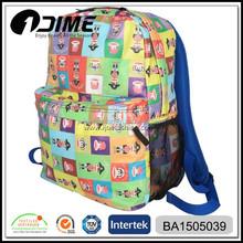 Fashion Waterproof Laptop Travelling Backpack Printed Pattern