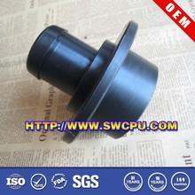 Custom black reducing nylon conduit bushing