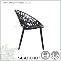 Home use plastic chair dining room furniture made in china