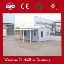 convenient to change shock resistance temporary prefabricated house uae