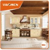 With quality warrantee colored with hardware plywood carcass customize solid wood kitchen cabinet