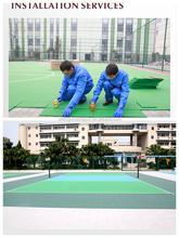 New Modular Volleyball Court Flooring & Multi-Purpose Plastic Tiles