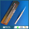 In stock Wholesale ! E-cig accessories Hand tool heat resistant ESD stainless steel ceramic tweezers
