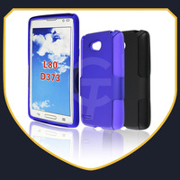 High Quality Hybrid Silicone Combo Case With Hard Back Cover for LG L80 D373