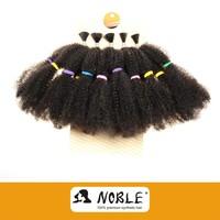 REBECCA HAIR 2015 100% dye for synthetic hair extension NOBLE KINKY BULK