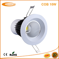 led down light/led downlight 10w cob led downlight dimmable white