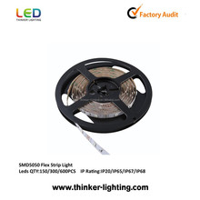 2012 hot sale IC 1809 remote control,CE&RoHS approved SMD 5050 flexible led strip lights 220v