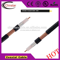 coaxial cable rg223 BC+S Inner Conductor 0.9mm+Dielectric Insulation PE 2.95mm+Braiding Double Silver Plated Copper 3.95mm Shie