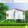 de lujo moderna villa prefabricados para la venta