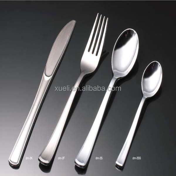 Zilver plastic bestek
