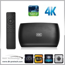 android 4.4 xbmc amlogic S812 android quad core tv box 4k