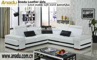 cheap single sofa living room furnifure u shaped round corner sofa