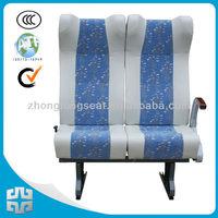 450mm 18inch width High resilience foam seat ZTZY3300 train passenger seat