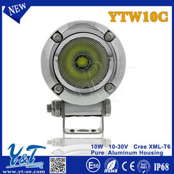 Y&T Top quality 2inch with 1 years warranty Off road led auxiliary motorcycle headlight with flood spot beam