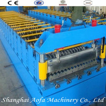 1 inches chain corrugated roof sheet roll former machine