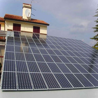 Pitched Rooftop Solar Mounting System / Aluminum Solar Brackets / Solar Panel Mounting