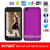 Camera 4.0 inch Dual Core MTK6572 Android 4.1 3G Smart Phone
