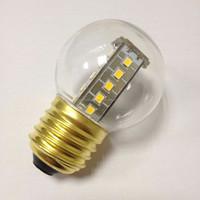 high lumen nergy saving 1.5W 130lm LED 2835SMD G45 bulbs screw base E26/E27 PC cover shell