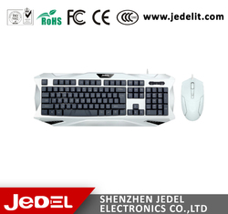 2015 High speed Nice looking wireless flexible keyboard and mouse