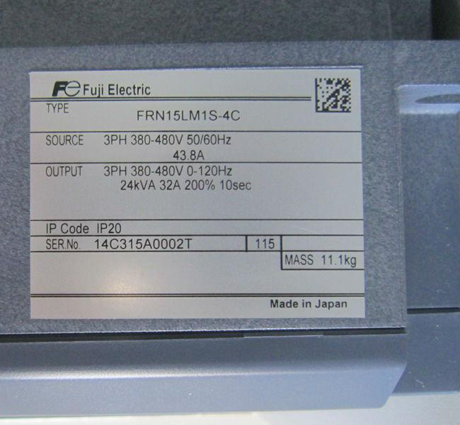 Braking resistor for lift inverter AC drive