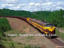 Economic and professional fcl/lcl sea+railway service from China to Russia