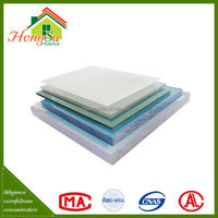 High quality with best price light weight polycarbonate solid sheet for skylight