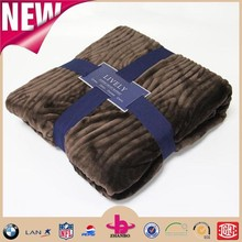 New 2015 faux fur rugs suntan color clip cord flannel blanket fleece bulk buy from china manufacturer